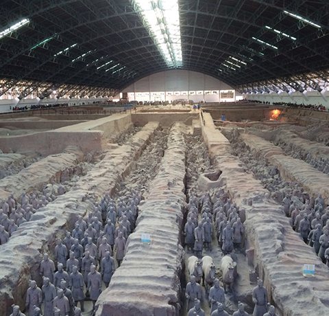 The Terracotta Warriors and Horses of the First Qin Emperor