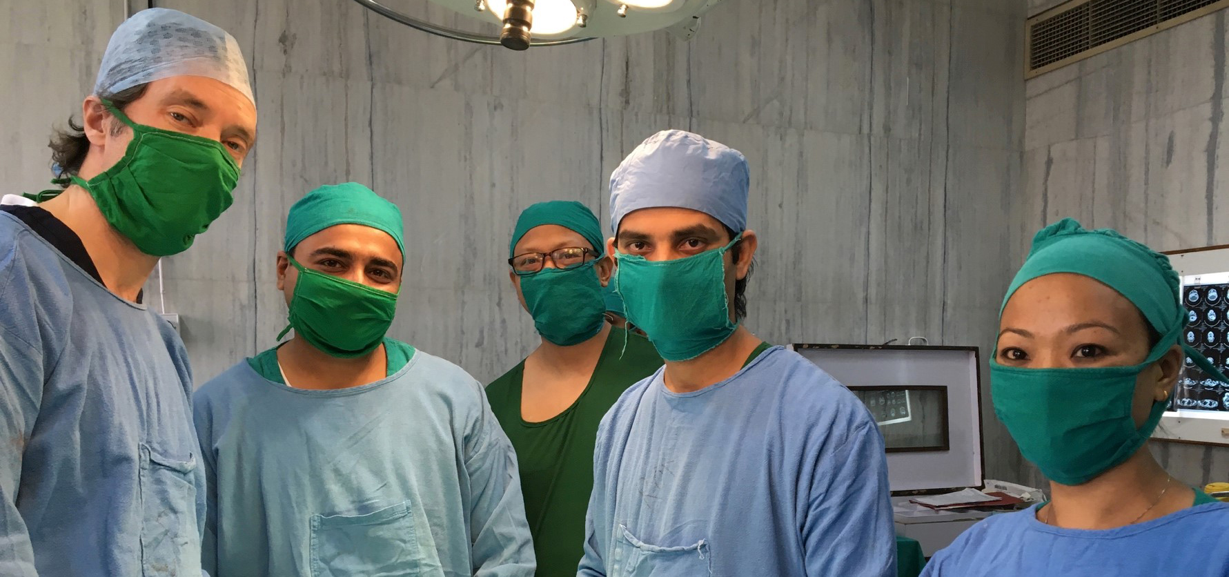 Mission to Nepal surgery