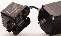 AM256 on DMX-K-SA-11 stepper motor
