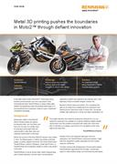 Case study: Metal 3D printing pushes the boundaries in Moto2™ through defiant innovation