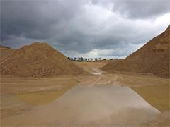 quarry stockpiles